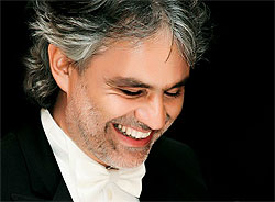 Andrea Bocelli - 2013 UK Tour