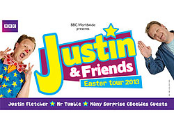 Justin And Friends CBeebies 2013 Easter Tour